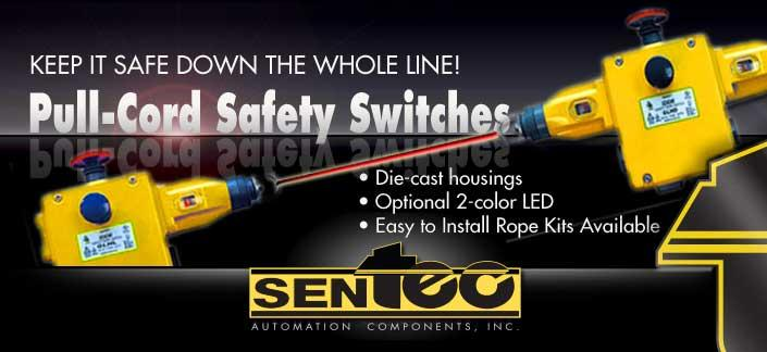 Pull-Cord Safety Switches