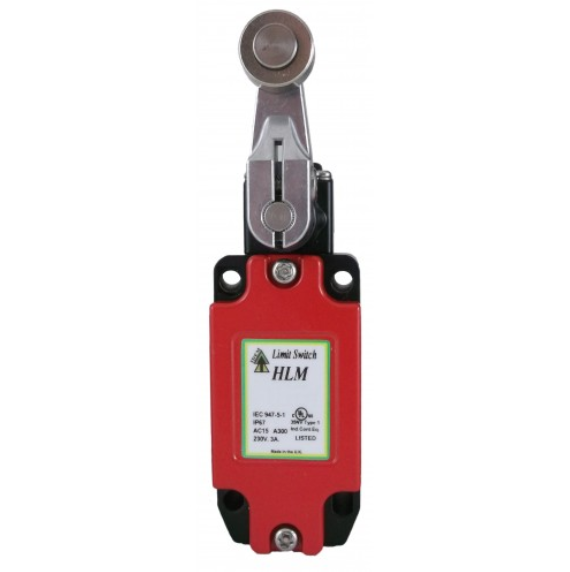 HLM Short Roller Lever Limit Switch