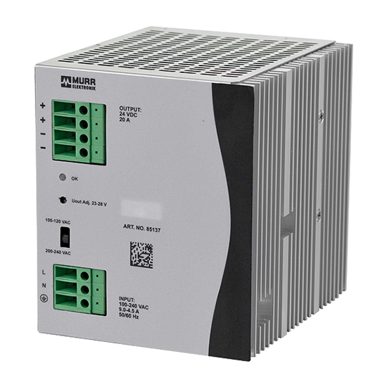 Eco-Rail2 20A Single Phase Power Supply